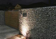 Ideas for street appeal utilising gabion design