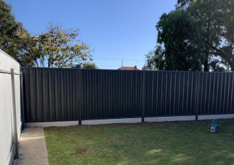 Archie project in Glengowrie, SA by SMC Fencing Construction