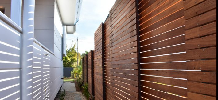 State of the Art Designer Town Houses Byron Bay project by Northern Rivers Fencing