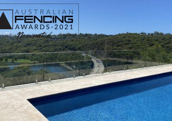 FENCING Awards 2021 nomination – Roseville Chase Balustrade and Pool Fence by JTS Glass Services