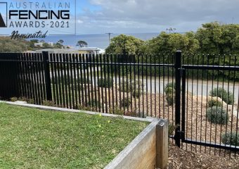 FENCING Awards 2021 nomination - Wonderland Terrace Residential Fence Project