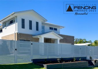 FENCING Awards 2021 nomination - Blank Canvas Project by Matrix Fencing & Landscapes